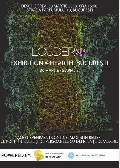 LOUDER, proiect vizual de combatere a prejudecăților prin artă în România, Finlanda și Rusia – 2019