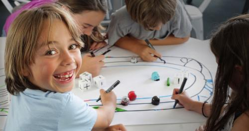 InMotion with Ozobots – lifeskills for children