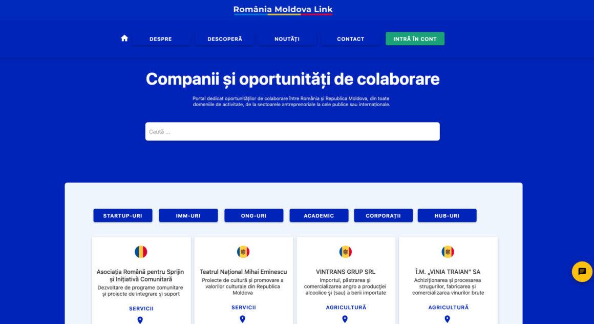 România Moldova Link